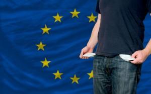 Er du ung og arbejdsløs i EU er det ikke sikkert du har mange penge på lommen.